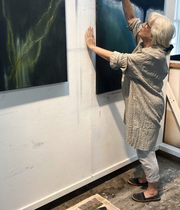 Marion Taylor Portrait - Janet Rady Fine Art