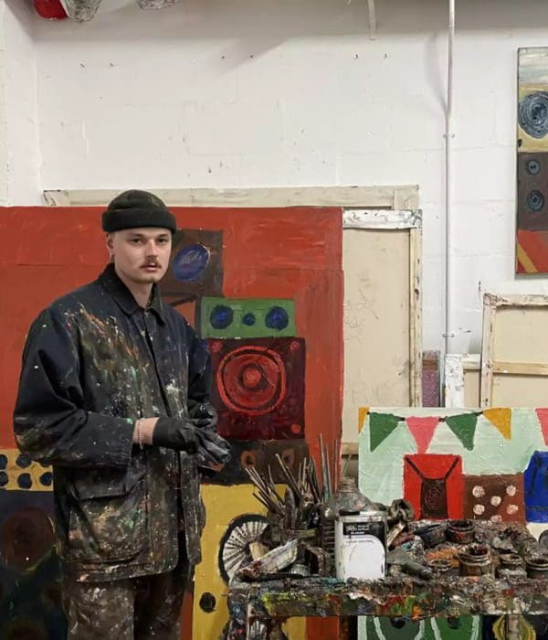 Danny Romeril Portrait - Janet Rady Fine Art